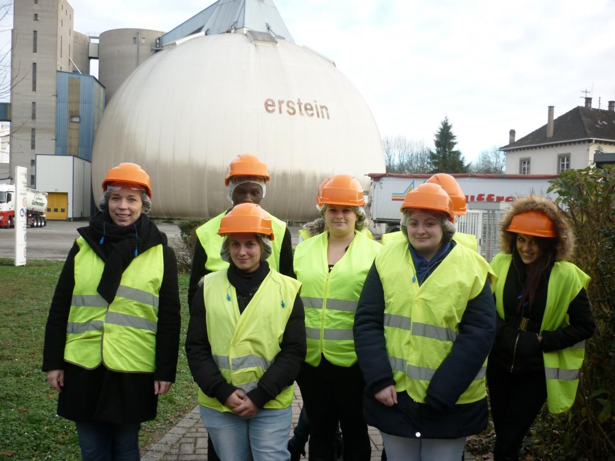 Visite de la Sucrerie d'Erstein
