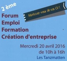 Forum Emploi – Formation – Création