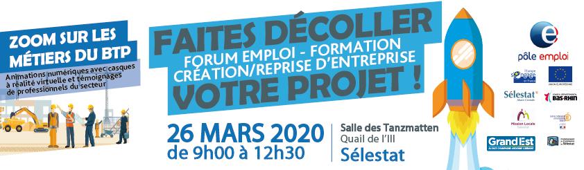 Forum Emploi Formation Création d'entreprise 2020